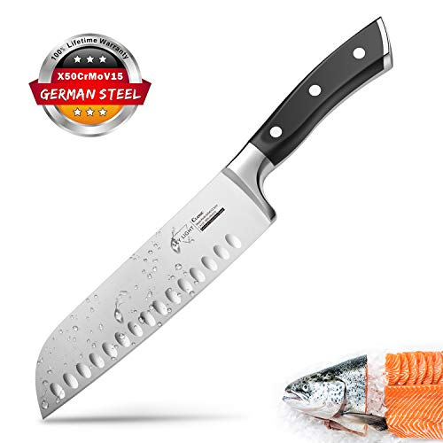 SKY LIGHT Kochmesser Japanisch Santoku Messer...