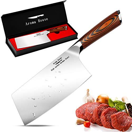 Aroma House Hackmesser Küchenmesser Chinesisches...