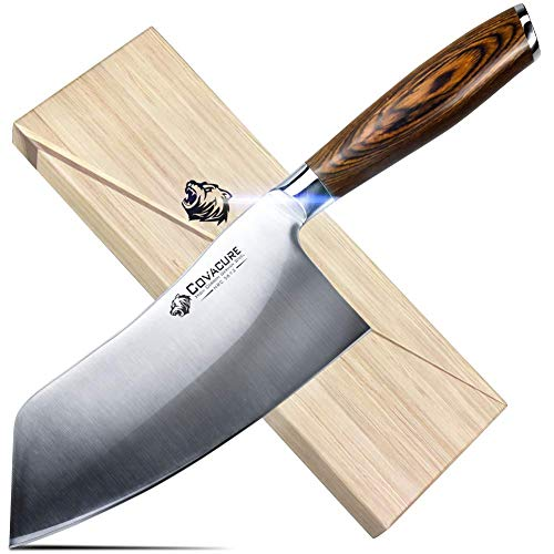 COVACURE Küchenmesser Kochmesser 18 cm - Rostfrei...